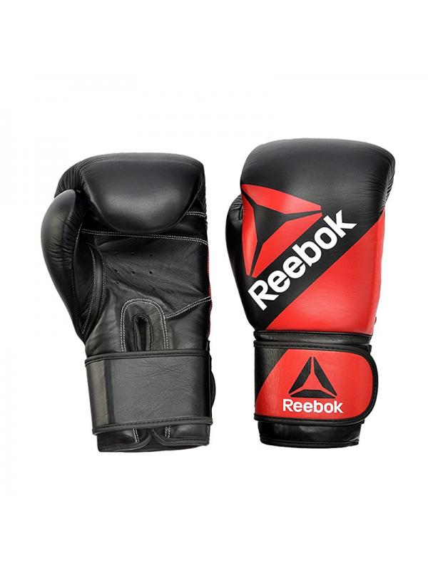 10oz Combat Leather Training Gloves RSCB-10040RDBK (Red/Black)